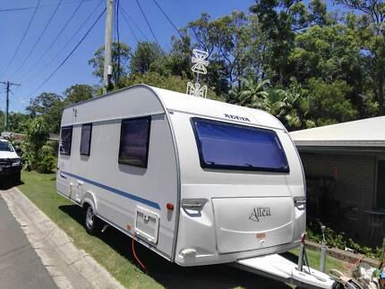 Adria Altea 512PU Caravan in excellent condition