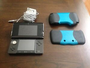 Nintendo 3DS with case, charger and stylus