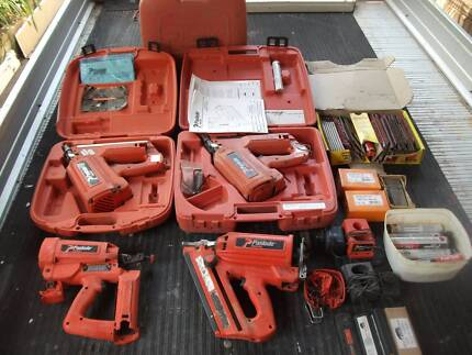 FOUR PASLODE FIXING & FRAMING NAIL GUNS Gladesville Ryde Area Preview