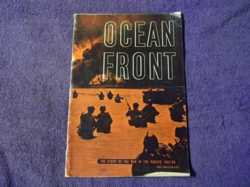 "British ""OCEAN FRONT""-WAR IN THE PACIFIC 1941-1944 MAGAZINE"