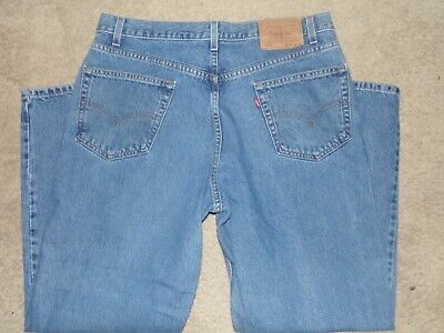 LEVI LEVIS 550 RELAXED FIT MEN'S JEANS SIZE 36 X 30 RED TAB