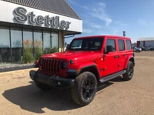 2020 Jeep Wrangler Unlimited Sahara Altitude! LEATHER! NAV!