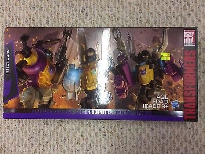 Transformers Insecticons Platinum Edition MISB Lot #2