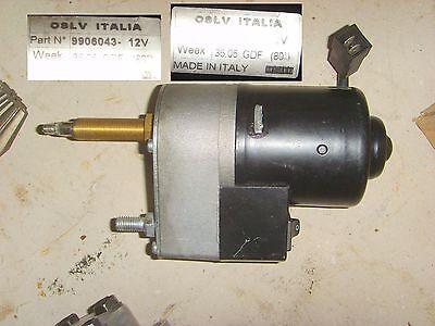 Scheibenwischermotor 12V / 80° mit Schalter Traktor Radlader Schlepper
