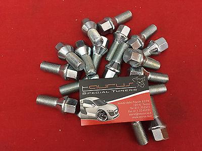 20 bulloni ruota conici M14 1.5 M14x1,5 Alfa Romeo 159 Spider Brera L 26mm ch 17