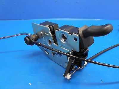 Smart Fortwo Passion Pure Oem Tailgate Latch Assembly With