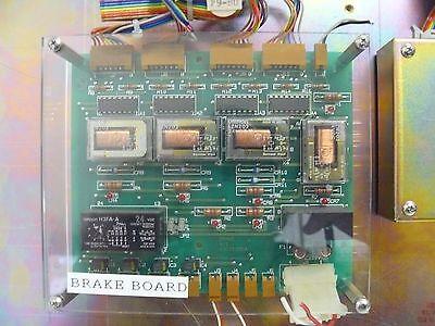 KOKUSAI  ELECTRIC D3E01299A BRAKE BOARD PCB + KOKUSAI D2E01310A BRANCH