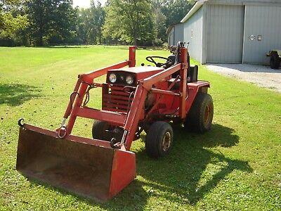 Wheelhorse Wheel Horse D200 Compact Front-end Loader Garden Tractor