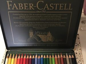 Genuine Faber-Castell Polychromos Pencils Tin 24 Pack Hornsby Hornsby Area Preview