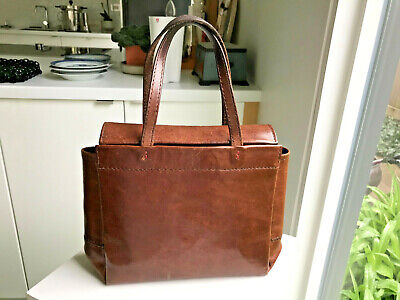 The Original Henry Cuir Leather with Red Linen Lining Barneys New York