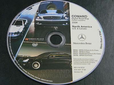 MERCEDES BENZ E S CL CLASS NAVIGATION NAV DVD ROM OEM S0028-0070-801 BQ 6460232
