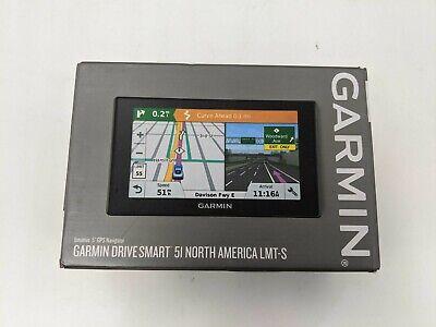"New Garmin Drive Smart 51 Intuitive 5"" GPS Navigator North America LMT-S -DS3316"