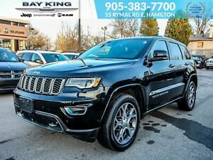 2018 Jeep Grand Cherokee STERLING EDITION 4X4, NAV, SUNROOF, HEA