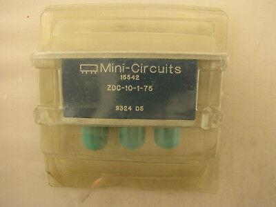 Mini Circuits Zdc-10-1-75 Directional Coupler 1-250 Mhz Bnc With Bracket Nos