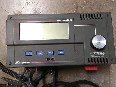 SNAP ON MT3760 DIGITAL  AVR HEAVY DUTY STARTING & CHARGING SYSTEM TESTER  -