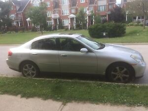 Certified Infinity G35x. No accidents