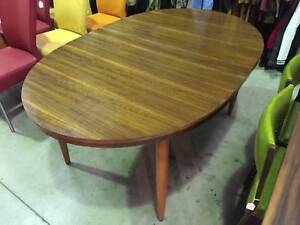 Dining table, chairs, vintage, mid century WE CAN DELIVER Brunswick Moreland Area Preview