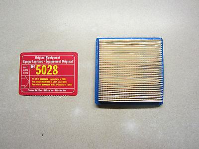 Briggs & Stratton 5028 Air Filter 399877 399877S