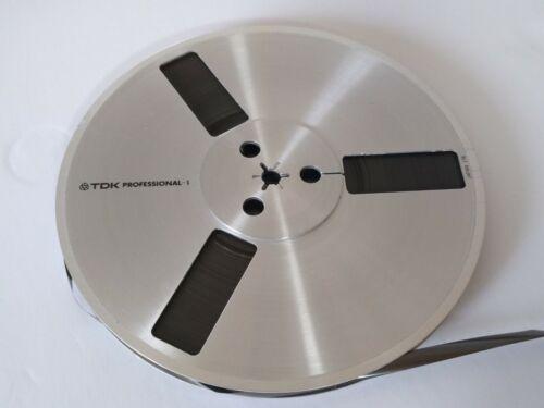 "Vintage TDK Professional 7"" Metal Take Up Reel  Tape not included"