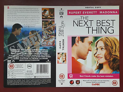 The Next Best Thing - Madonna - Promo Sample Video Sleeve/Cover