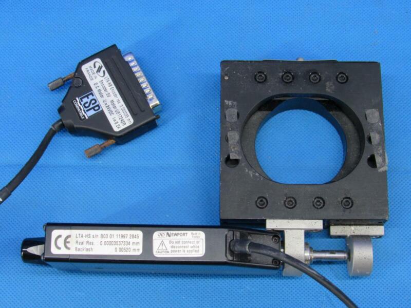 Newport Motorized Linear Actuator ESP Real Res Backlash LTA-HS Encoder UE1724SR