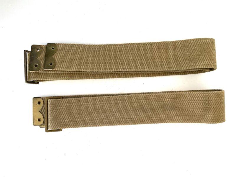 Original WW1 British P08 EQUIPMENT BRACES Pattern 1908 - NICE PAIR!