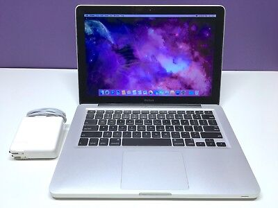 Apple MacBook Unibody 13 Inch Laptop Computer BEST VALUE OS-2015 - 500GB