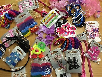 Wholesale joblot of girls hair accessories slides bobbles clips BARGAIN £25+