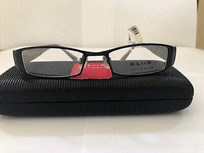 Eyeglasses Klick/ Fysh KL 423, Black Women's (Klick Glasses)