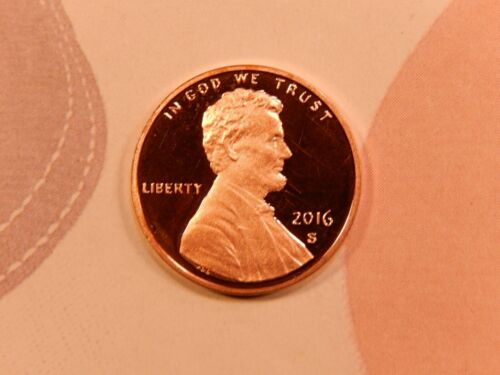 2016 S Lincoln Shield Cent   - Proof -