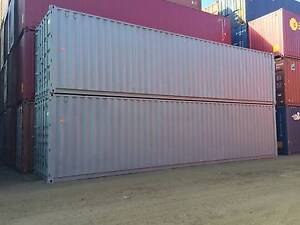 40ft High Cubes Fully Painted Shipping Containers Delivered Tempe Marrickville Area Preview