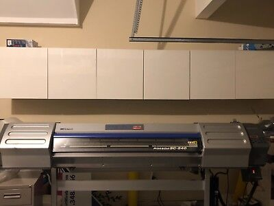 Roland Soljet Ii Sc-540 Wide Format Printer Print Cut.. Refurbished