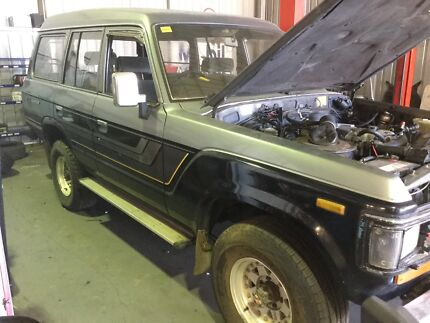 Toyota Landcruiser HJ60 High Top - Silver on Black Ludlow Busselton Area Preview