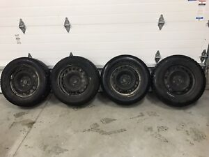 BF Goderich Snow Tire's on Rims