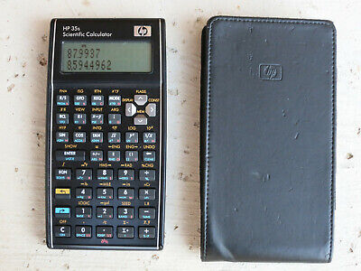 HP 35s Scientific Calculator with Case for sale  Shipping to Canada