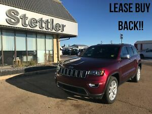 2017 Jeep GRAND CHEROKEE LIMITED LEATHER! SUNROOF! WINTER TIRES!