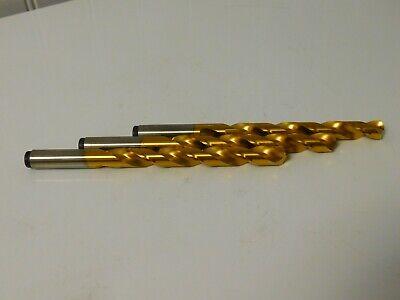 """Hertel Cobalt Jobber Length Drills 35//64/"""" 135° 2FL RH Qty 2 HMJ30084A"""