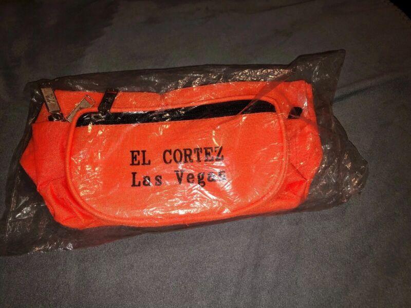 Vintage El Cortez Las Vegas Casino Fanny Pack NEW