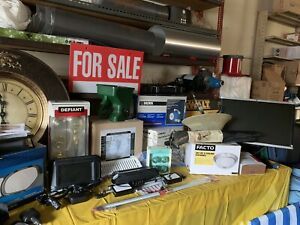 Garage sale this weekend ! Saturday October 12th 8am - 2pm
