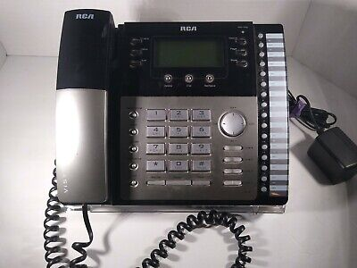 Rca Visys 4 Line Business Phone W Call Waiting Caller Id 25424re1-a