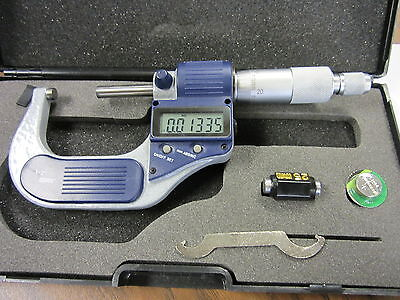 1-2 25-50mm Electronic Digital Micrometer--new