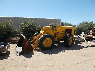2 Used Case W-7 Loaders And Parts