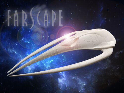 3d printed 34 cm model of Moya Leviathan spaceship from Farscape