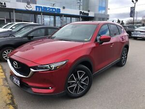 2018 Mazda CX-5 GT, LEATHER, BOSE, 19INCH ALLOYS, LED LIGHTS
