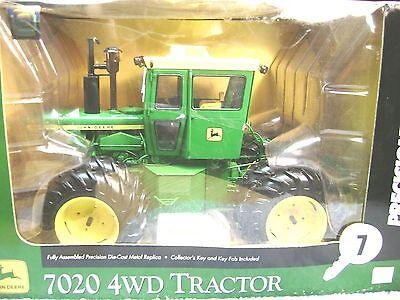 ERTL 1/16 JOHN DEERE 7020 4WD PRECISION KEY SERIES #7 TRACTOR