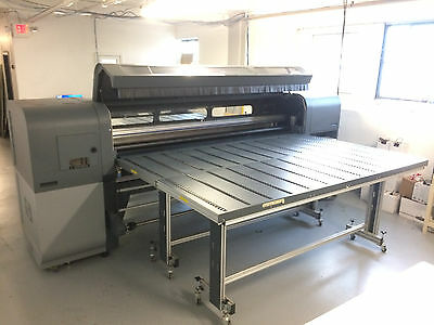 Used HP Scitex FB700 Printer 98.4″ – UV Curable