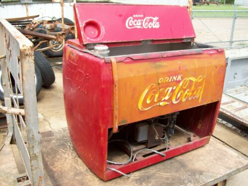 Vintage Coca-Cola Bottle Water Cooler Cavalier Brand