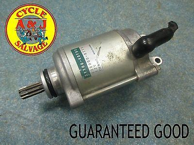 Gsxr1000 Starter (2005-2006 Suzuki GSXR1000, starter motor, electric starter, OEM guaranteed )