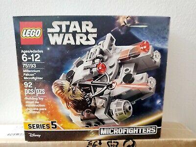 Brand New Sealed Box Lego Star Wars 75193 Millennium Falcon Microfighter