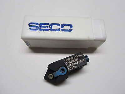 New Seco Mssnr-12ca-12 Rh Indexable Turning Cartridge Lot Of 5